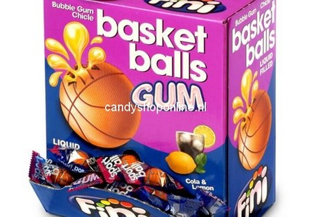 Fini Basketball Bubblegum