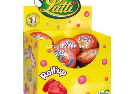 Lutti Roll Up Strawberry