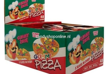 Gummy Pizza 3 Slices
