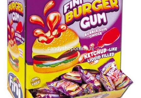 Fini Burger Bubble Gum