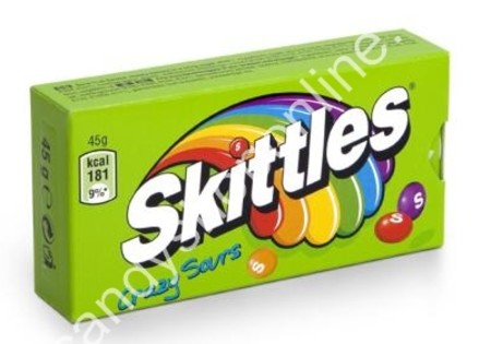 Skittles Box Crazy Sours 45gr.