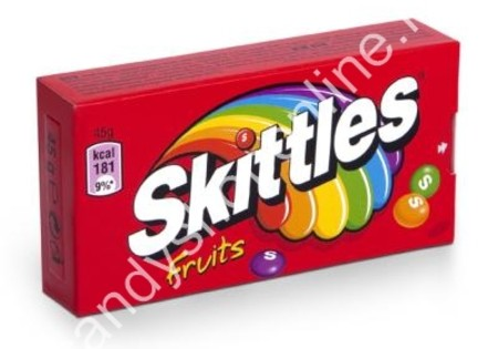 Skittles Box Fruit 45gr.