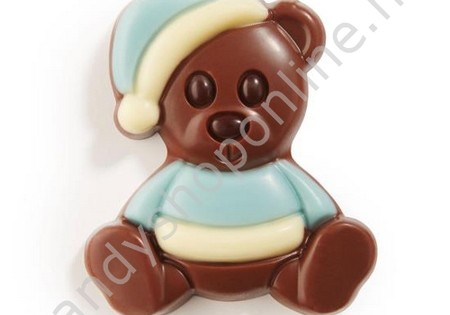 Dragee Chocolade Knuffelbeertje Blauw/Wit