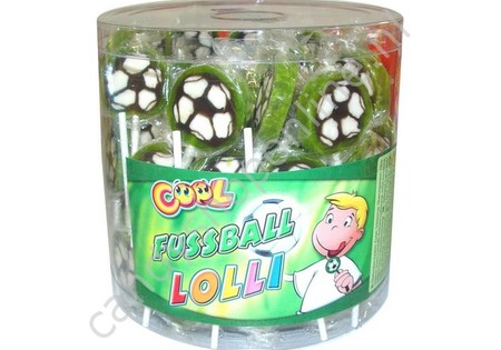 Cool Voetbal Lollie
