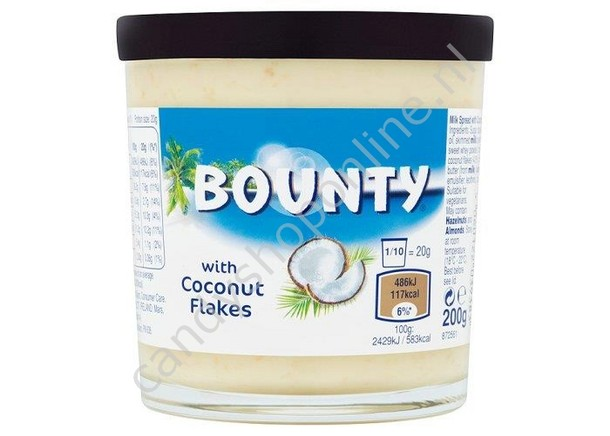 Bounty Spread Coconut 200gr.