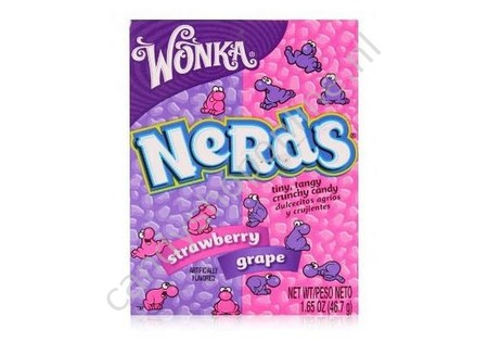 Wonka Nerds strawberry grape 46gr.