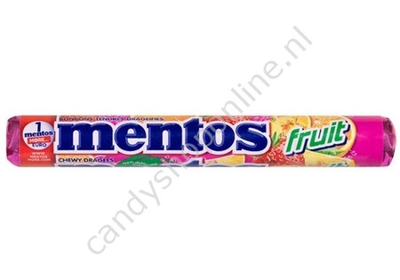 Mentos Fruit 3pck