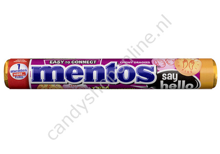 Mentos Say Hello 5pck