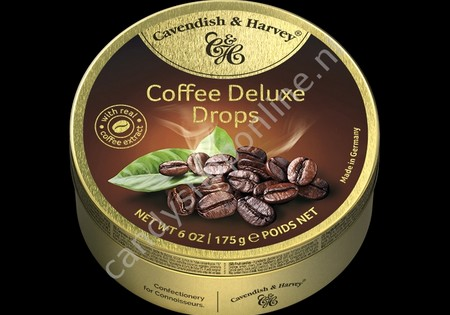 Cavendish & Harvey Coffee Drops with real Coffee extract 175gr.