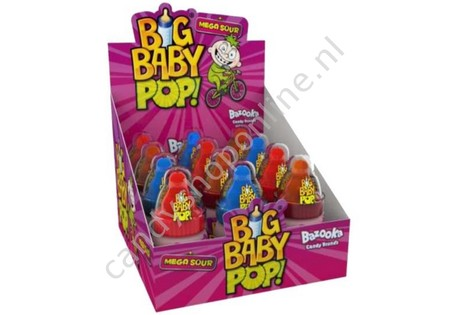 Topps Big Baby Pop Mega Sour