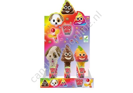 Bip Bipmoji Pop Ups Lollipop