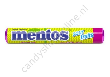Mentos Sour Fruits