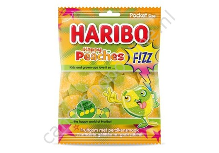 Haribo Happy Peaches Fizz