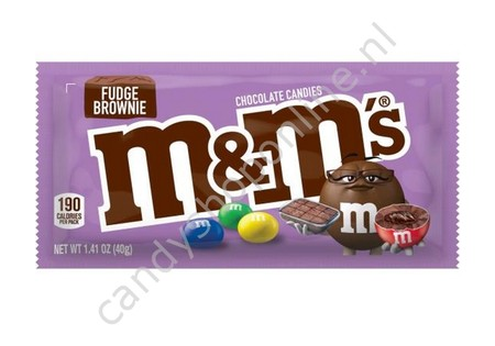 M&M's Fudge Brownie 40gr.