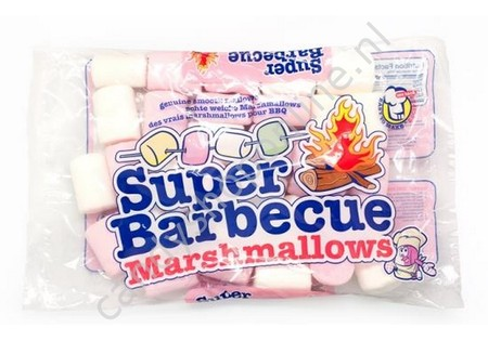 Marshmallow Barbecue Pink & White 300gr.