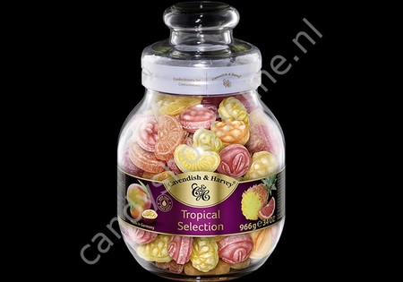 Cavendish & Harvey Tropical Selection with real Fruit Juice 966gr.