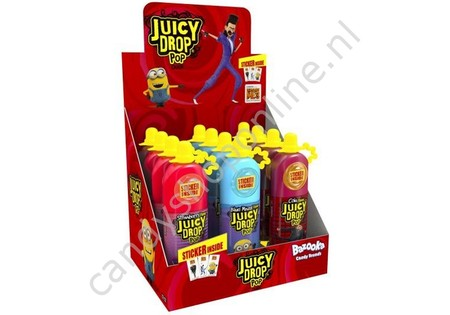 Bazooka Juicy Drop Pop 3 Flavours