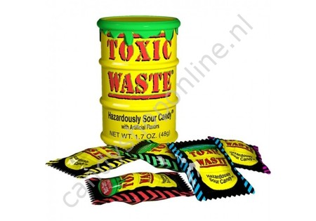 Toxic Waste Yellow Drum 42gr.