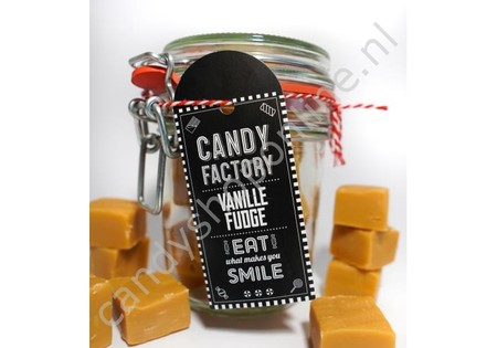 Candy Factory Weckpot Vanille Fudge 210 gram