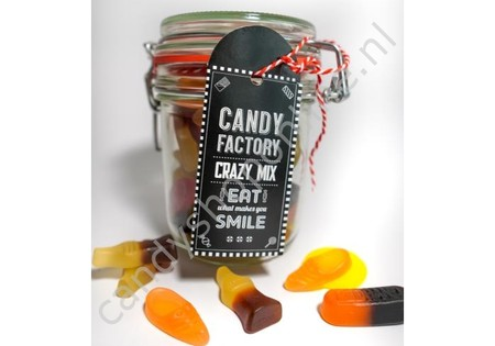 Candy Factory Weckpot Crazy Mix 220 gram