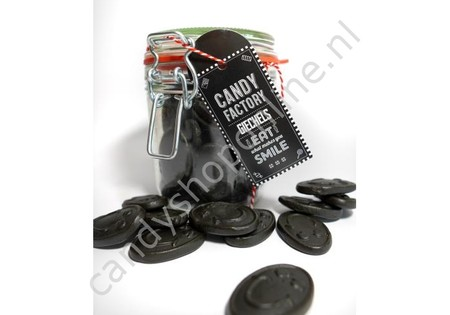 Candy Factory Weckpot Giegels Drop 250 gram