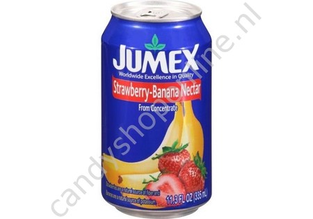 Jumex Strawberry Banana Nectar 335ml.