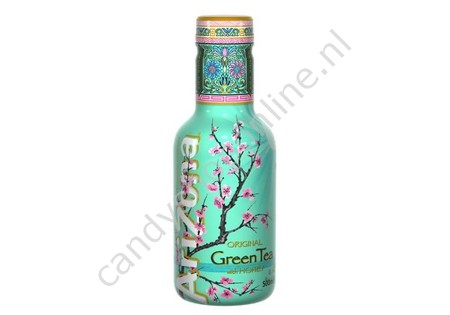 Arizona Green Tea with Honey 500ml.